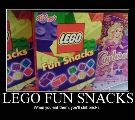 Lego fun snacks haha