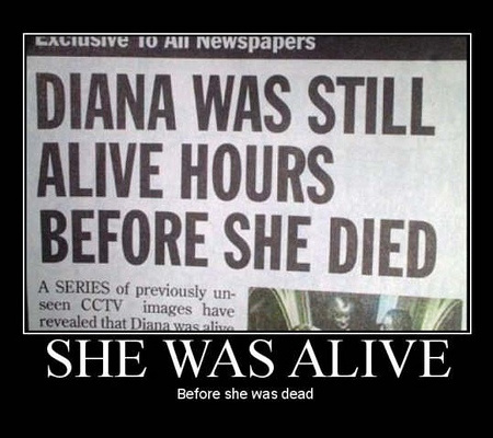 She was alive