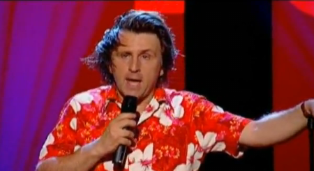 Milton Jones During Performance