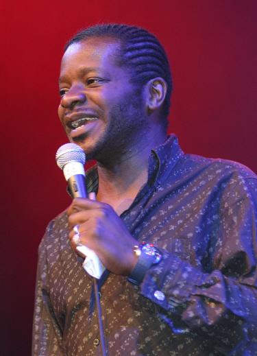 Comedian Stepken K Amos