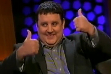 Peter Kay Performing Stand Up