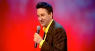 Lee Mack Doing Stand Up