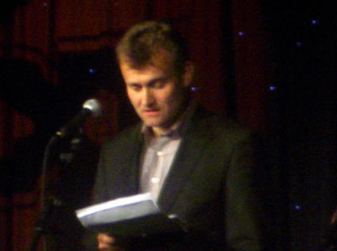 Hugh Dennis During Performance