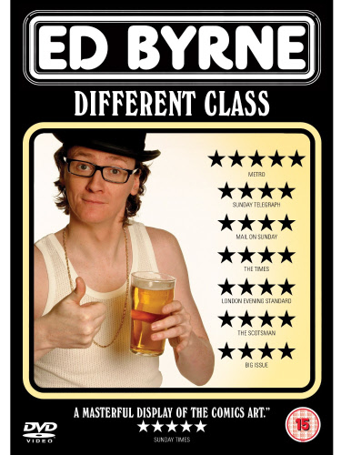 Ed Byrne Different Class DVD