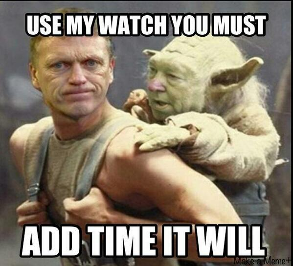 Fergie Wisdom for David Moyes
