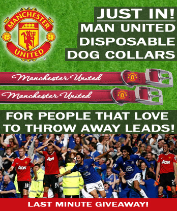 Man United Dog Collars