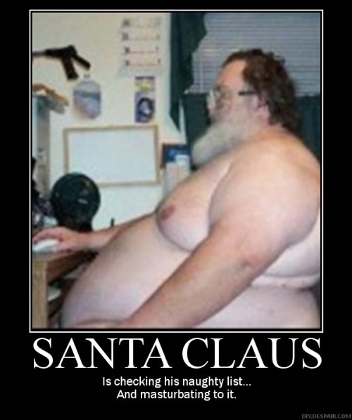 Santa Claus naughty list