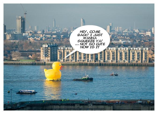 London funny stunt