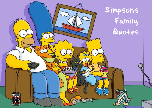 Simpsons family quotes