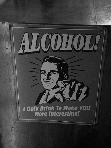 Alcohol makes you more interesting