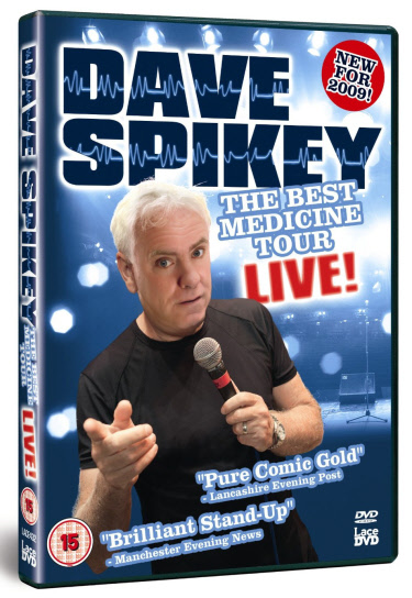 Dave Spikey Jokes – Live Stand Up & Phoenix Nights Quotes