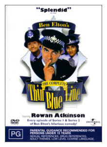 Thin Blue Line DVD