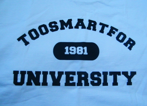 Toogoodfor University