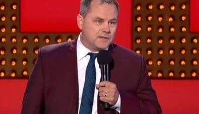 Photo of Jack Dee performing lice at The Apollo