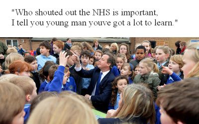 NHS spoof