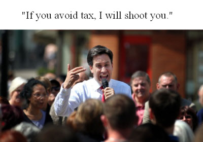 Ed Milibands stance on tax avoidance