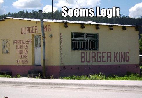Fake Burger King