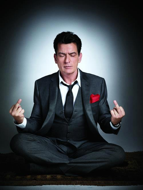 Charlie Sheen has a message