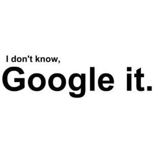Google it forum reply