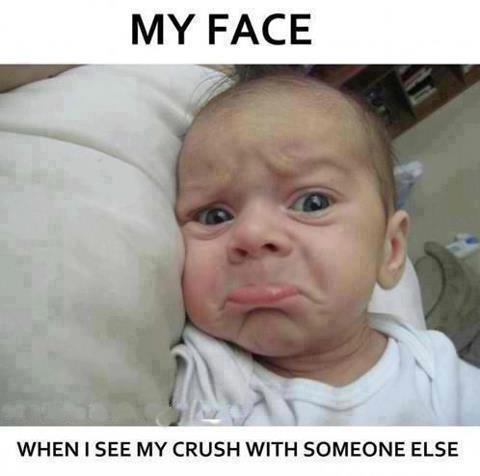My unhappy face