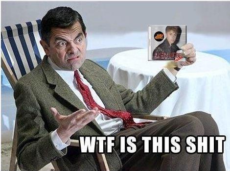 Mr Bean does not like Bieber