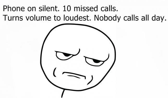 Nobody calls