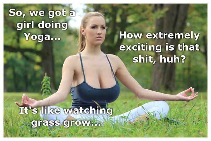 Girls Doing Sexy Yoga