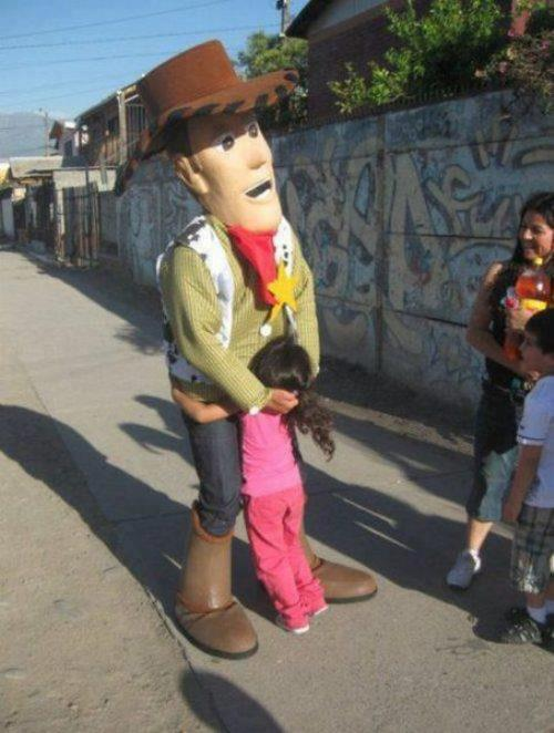 Woody fancy dress costume
